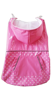Free Shipping Waterproof Puppy Dog Pet Raincoat Clothes for Dogs and Cats  for large dogs Size XS/S/M/L/XL/XXL/XXXL