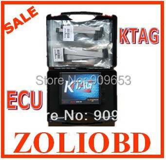 DHL Free 2015 Newly Design KTAG ECU Programming Tool top quality K-TAG master version v1.89 auto ECU programmer on hot selling(China (Mainland))