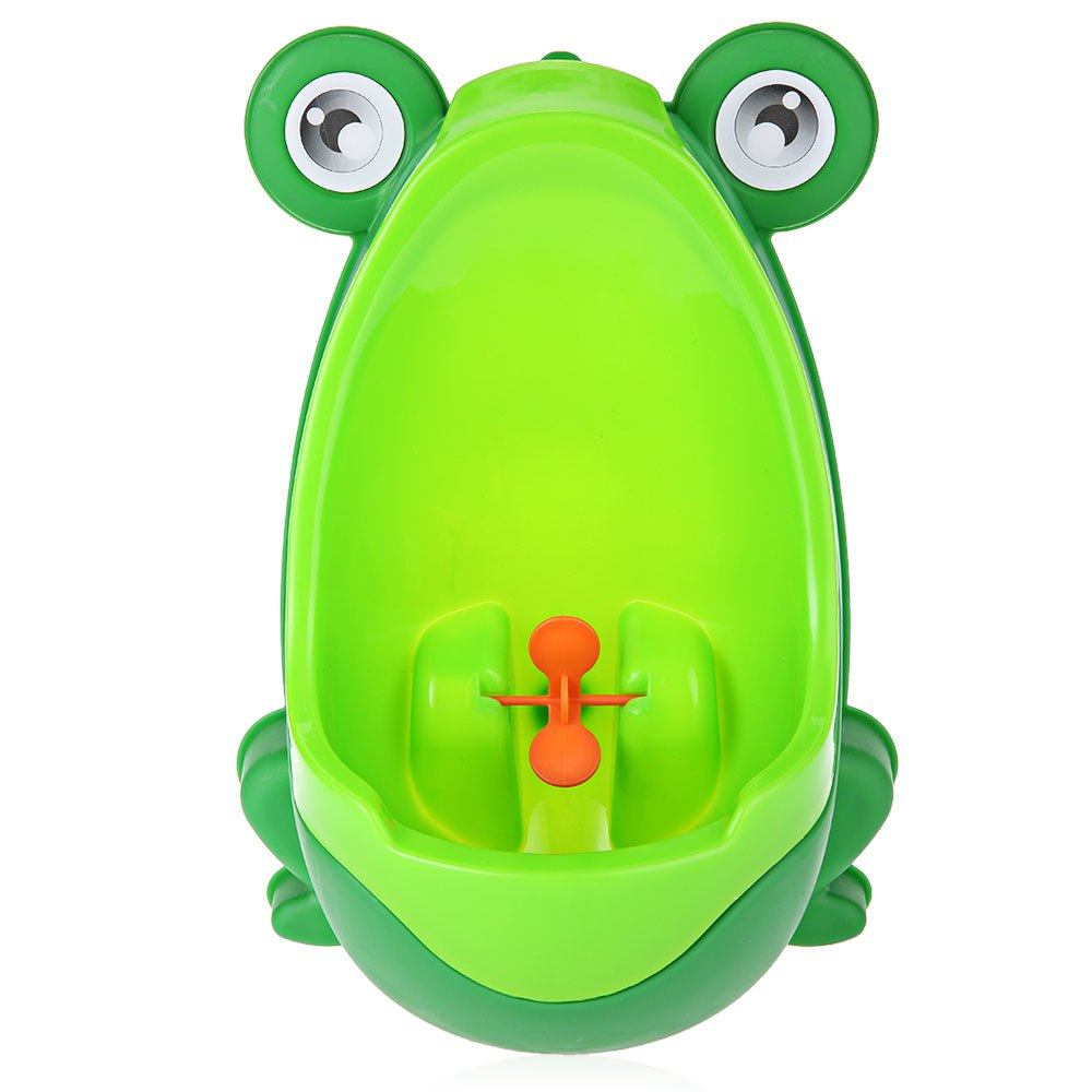 Kids PP Frog Children Stand Vertical Urinal Wall-Mounted Urine Groove Kids Baby Urinal New Promotion For 8 month to 6 years Kids
