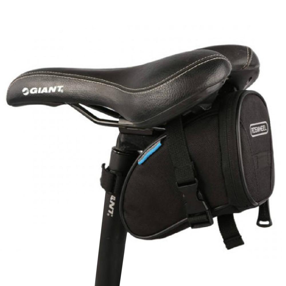 2016 roswheel water resistant bike saddle bag back seat