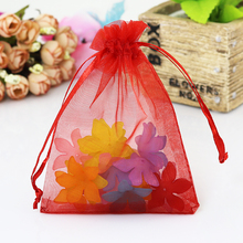 Buy Wholesale 100X 7x9 10x12 Wedding Decoration Baby Shower Organza Bags Jewelry Gifts Party Candy Birthday Favors Packaging Goodie for $6.83 in AliExpress store
