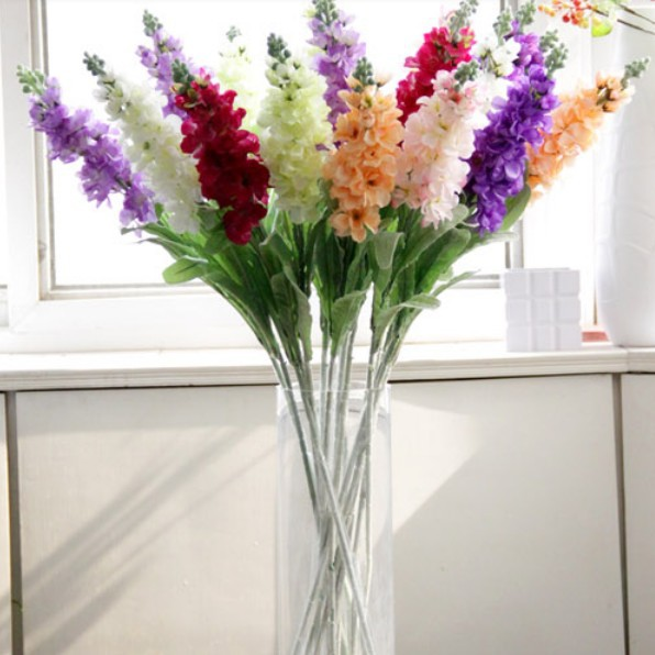 High Simulation Violet Silk Flowers Shop For Hotel Home Wedding Decoration(China (Mainland))
