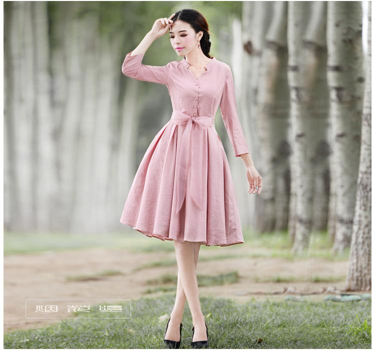 DEMON STYLE 2014 Autumn new womens Vintage elegant dress womens clothing original designОдежда и ак�е��уары<br><br><br>Aliexpress