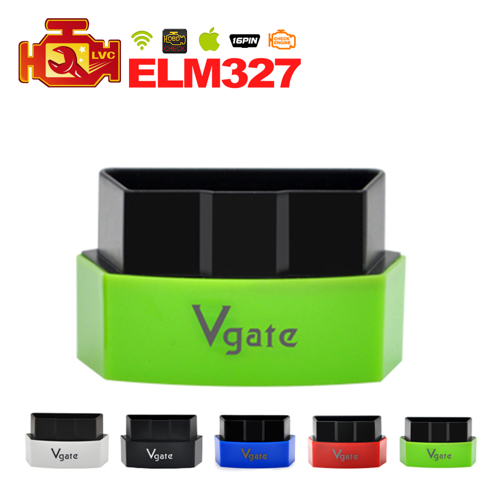 20PCS/lot Vgate iCar3 Wifi Elm327 wifi OBDII car diagnostic interface Support All OBDII Protocols Cars DHL Post free shipping(China (Mainland))