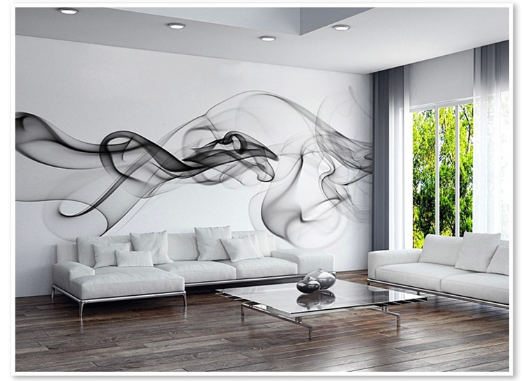 Modern wall mural picture more detailed picture about for Designer mural wallpaper