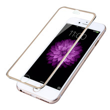 Buy Screen Protector iPhone 6 6s plus Tempered Glass Full Cover 3D Curved Edge Titanium Protective Film Full Coverage I6 for $3.10 in AliExpress store