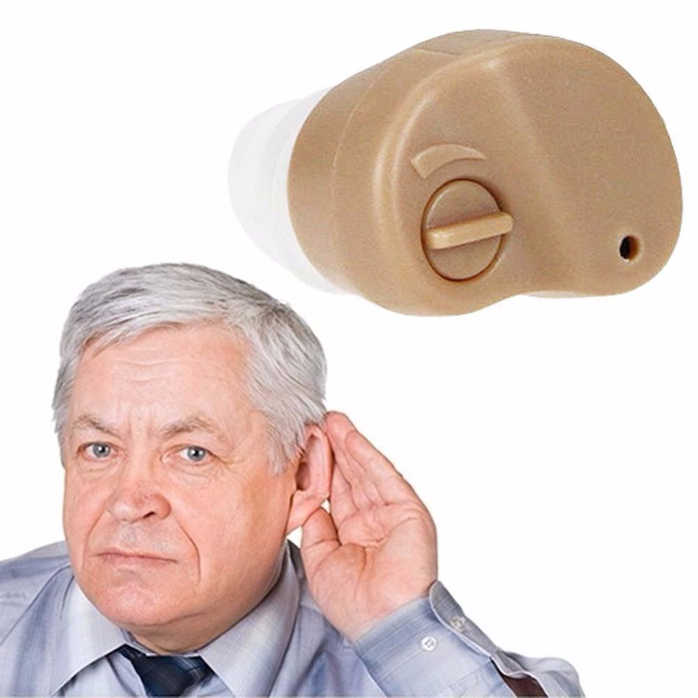 2017 Hot Selling!!! Hearing Aid Portable Small In The Ear Invisible Best Sound Amplifier Adjustable Tone Hearing Aids