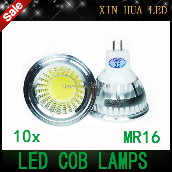 1 MR16 led Bulbs Light 12v Dimmable Led 6W 9W 12W COB LED lamp light GU5.3 110v 220v Spotlight - Xin Hua Electrical Store store