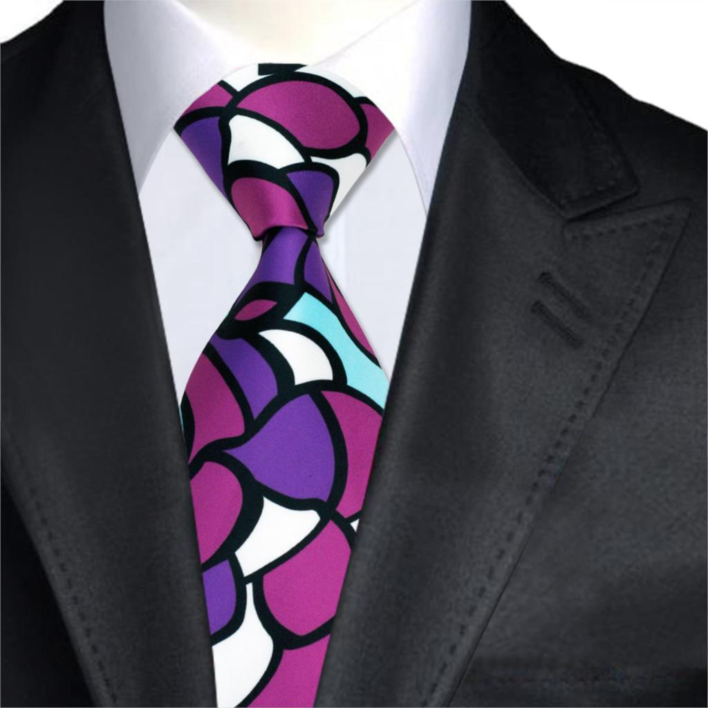 Popular pink shirt purple tie buy cheap pink shirt purple for Ties that go with purple shirts