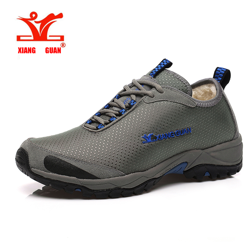 XIANG GUAN Homens Superfície Impermeável Ao Ar Livre Respirável Caminhadas Sapatos Das Mulheres Dos Homens Escalada Sapatos de Caminhada de Trekking Mulheres(China (Mainland))