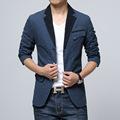 New 2015 suit men brand casual jacket terno masculino latest coat designs blazers men urban clothing