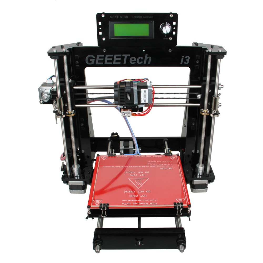 2016 Newest Reprap Prusa I3 3D Printer 6Materials Supported 3 D impressora Machine DIY KIT LCD