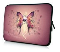 "10"" Butterfly Netbook Laptop Sleeve Bag Case Cover Pouch For 10.1"" ASUS Eee Pad TF10 Tablet PC,Waterproof,Shockproof"