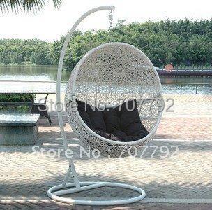 2016 Hot sale SG-JHA-178D Rattan garden swing chair(China (Mainland))