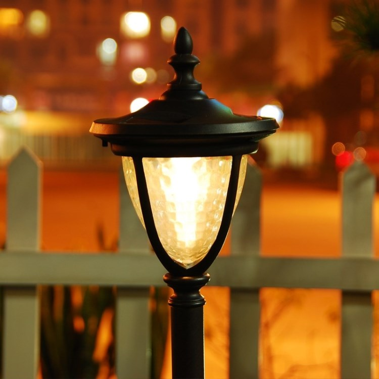 Solar lights garden lawn lamp outdoor home warm led lighting Garden View Villa<br><br>Aliexpress