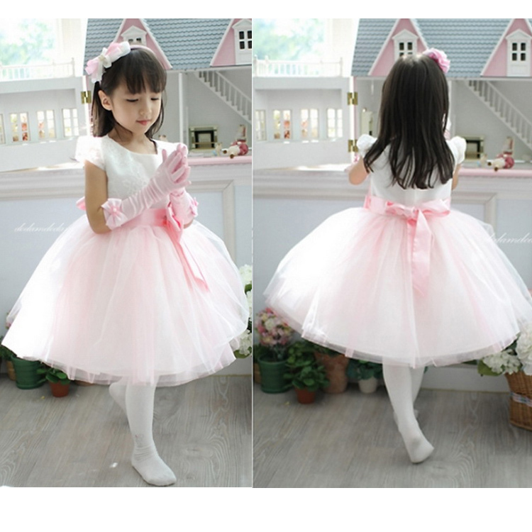 2016 children girls party dress party wedding dress for girls costume