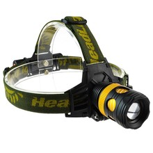 New Design Aluminun alloy waterproof CREE T6 2000LM 18650 AAA 3 modes LED headlamp headlight Flashlight