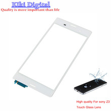 Original Quality Touch Screen Glass Lens With Sensor Digitizer Replacement For Sony Xperia Z3 D6603 L55T White