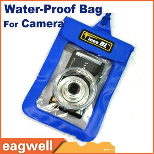 HOT! WP-015 camera waterproof bag , 5M waterproof cover drift diving bags for camera free shipping