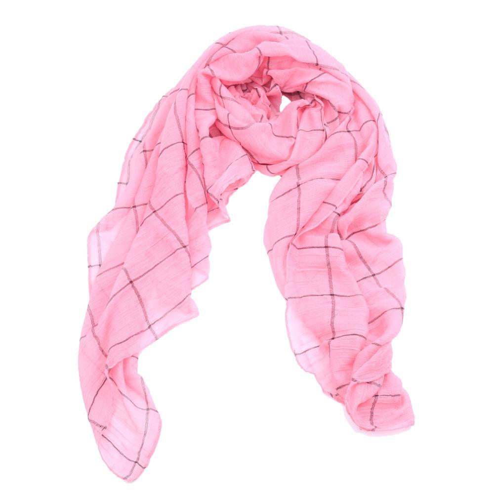 Fashion Lady Women Blanket Plaid Scarf Cozy Checked font b Tartan b font Scarf Shawls Pashmina