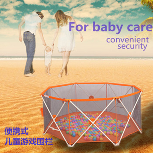 New Baby Playpens fence Portable folding baby Playpens crawling toddler baby safety fence playpen for children(China (Mainland))