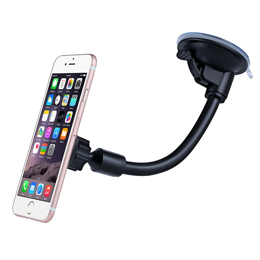 New Arrival Mpow MCM13 Grip Magnet Universal Windshield Car Mount Holder with Metal Plate for iPhone Samsung HTC Motorola Sony(China (Mainland))