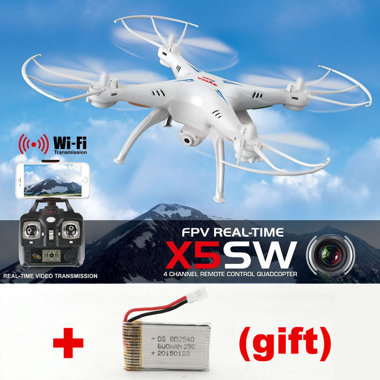Newest Syma X5sw Iphone/Andoird phone WIFI FPV UAV Quadcopter Drone 4 Axis RC Helicopter W/ Real-Time Video Camera(China (Mainland))