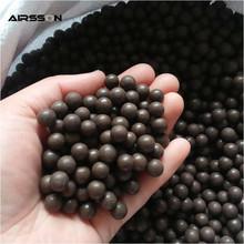 100 Pcs/Lot Slingshot Beads Outdoor Wild Hunting Shooting Training Bearing Mud Beads Ammunition Ammo Solid Drawing-board Mud Egg(China (Mainland))