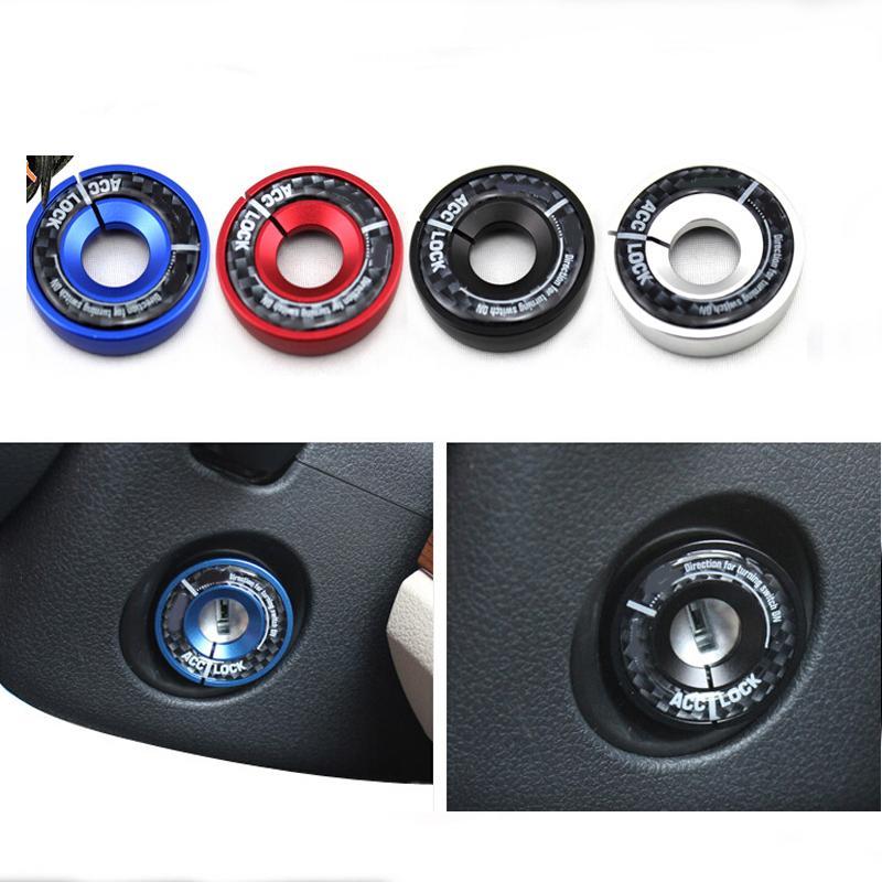 Car ignition switch decoration key ring sticker for Volkswagen VW NEW Lavida NEW Bora Jetta Passat Golf 6 NEW POLO Santana Wh(China (Mainland))
