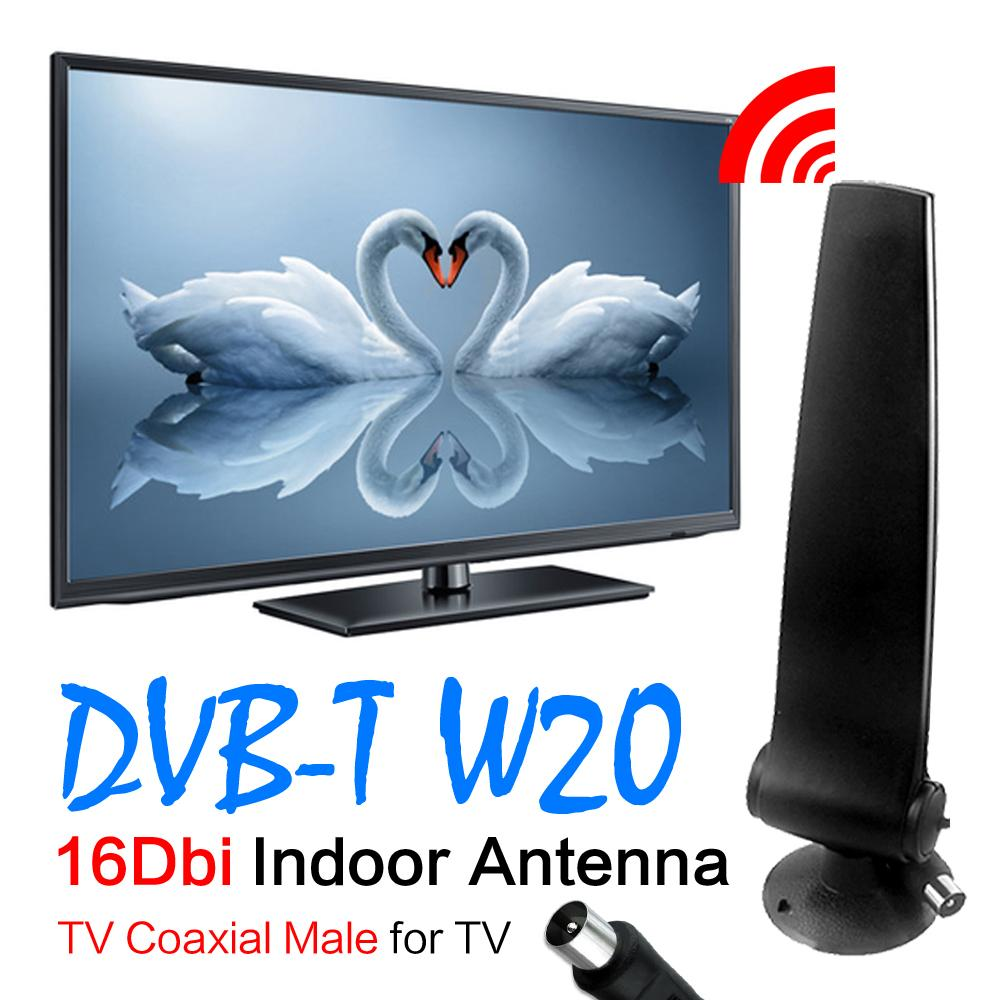 Digital Freeview 16dBi Antenna Aerial For DVB-T TV HDTV 16 dBi Aerial DVB-T TV HDTV Digital Antenna Booster Freeview EL0325(China (Mainland))