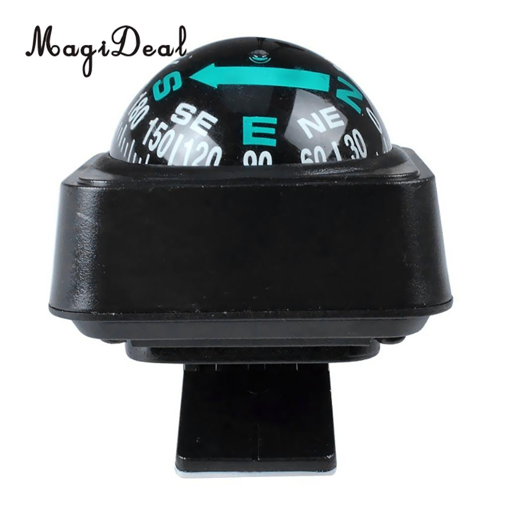 MagiDeal Durable1Pc Navigation Dashboard Car Compass Cycling Camping Direction Pointing Guide Ball for Outdoor Car Boat Truck
