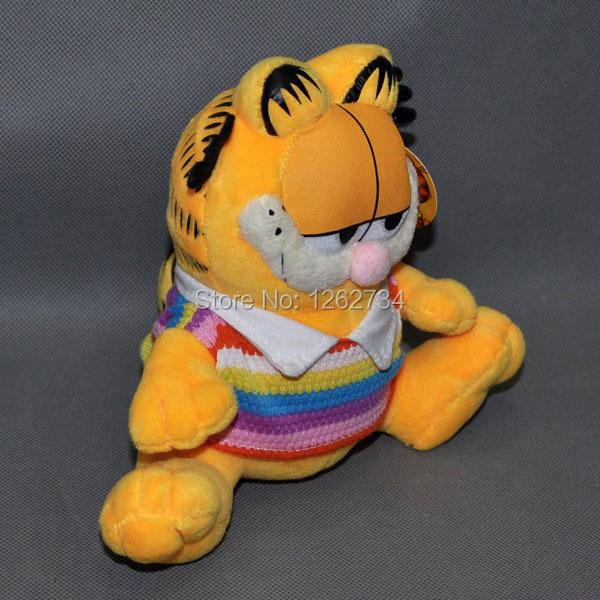 "Free Shipping EMS 30/Lot Garfield Cartoon Stuffed Animal Toy Brand 6"" Plush Cat(China (Mainland))"