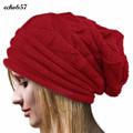 New Arrival Echo657 Fashion Women Winter Crochet Hat Wool Knit Beanie Warm Caps Nov 11