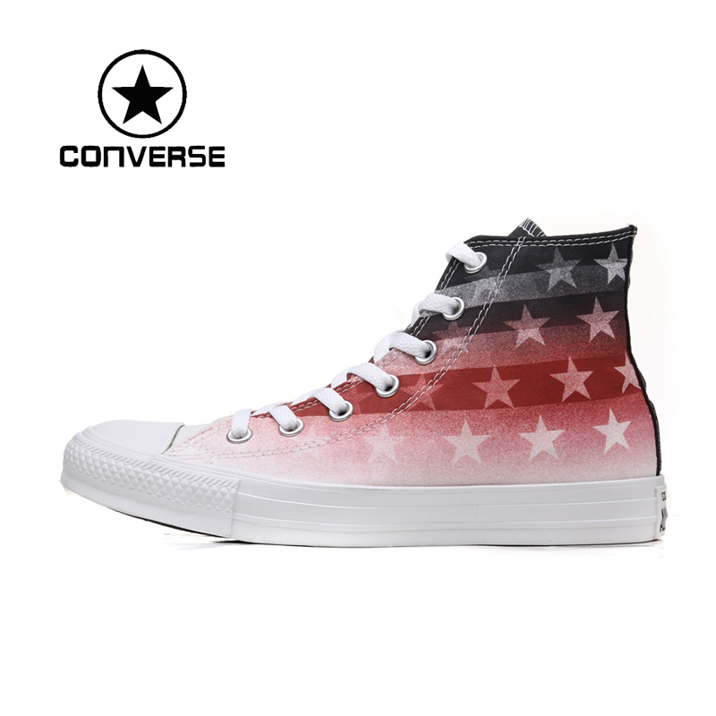 Фотография Original  Converse unisex high-top skateboard shoes  sneakers free shipping