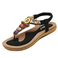 Big Size Woman Sandals Women s Summer Beach Flip Flops Beading Bohemia Hawaii Slippers Sandal Zapatos