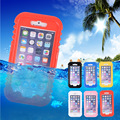 2016 Hot Waterproof Heavy Duty Hybrid Summer Swimming Dive Case For Apple iPhone 6S Transparent Phone