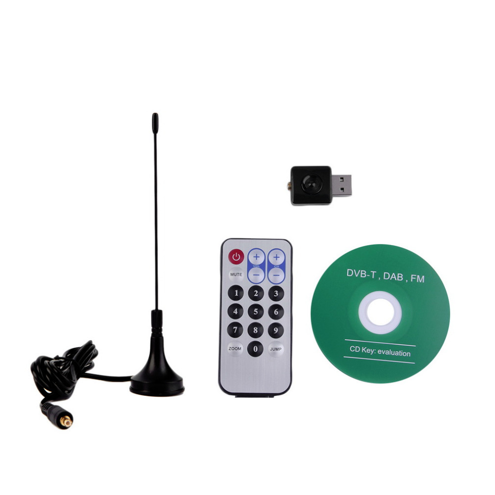 USB DVB-T+DAB+FM HDTV TV Tuner Receiver Stick RTL2832U+R820T2 Tuner Receiver Wholesale(China (Mainland))