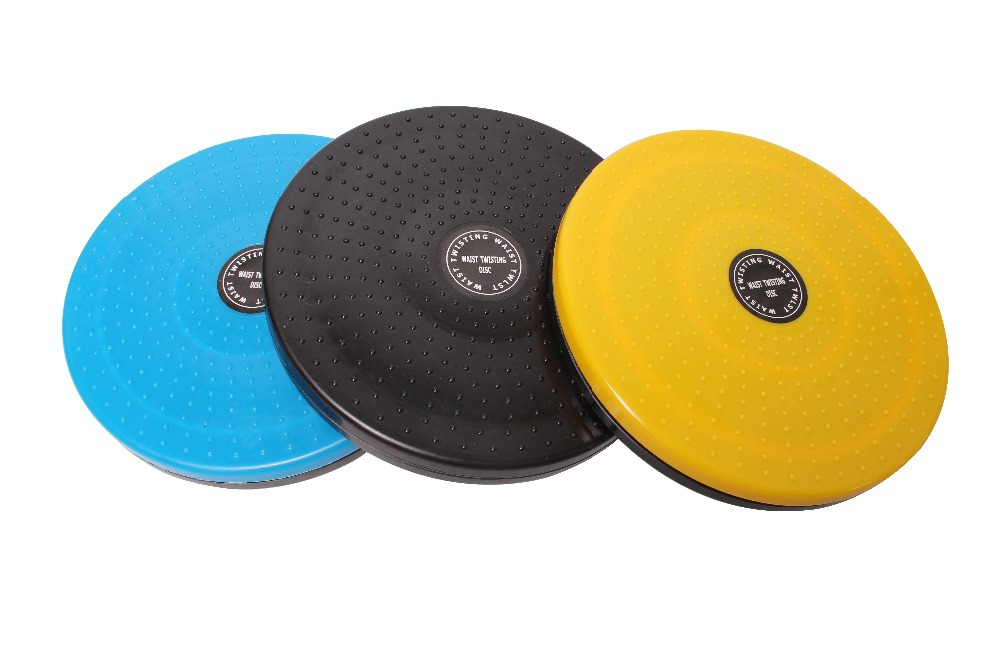 waist twister plate 24.5cm diameter plastic magnetic twist massage board fitness equipment for wholesale and free shipping(China (Mainland))