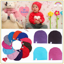 NewBorn Unisex Cute Baby Kids Child Cotton Beanie Hat Soft Toddler Infant Cap wholesale price(China (Mainland))