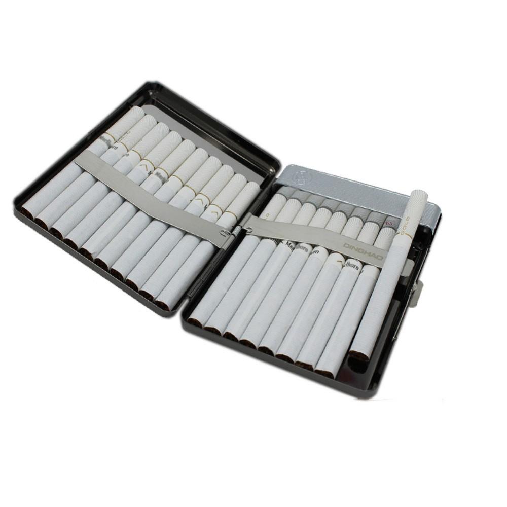 ถูก USBกรณีที่จุดบุหรี่สแตนเลสบุหรี่กล่องที่มีกล่องของขวัญแพ็ค20บุหรี่WindproofและFlameless