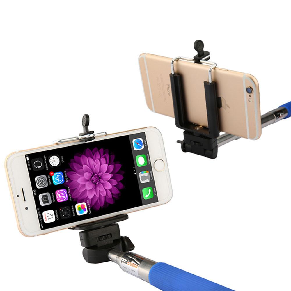 fashion extendable self selfie selfie stick handheld monopod clip holder bluetooth shutter. Black Bedroom Furniture Sets. Home Design Ideas