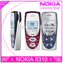 Refurbished 8310 original unlocked nokia 8310 cell phones post free shipping