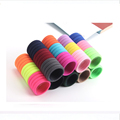 Wholesale 50/pcs Colorful Rainbow Hair Bands Ponytail Holders Girl Women Rubber Elastic Candy Hair Accessories Child Kids Ties