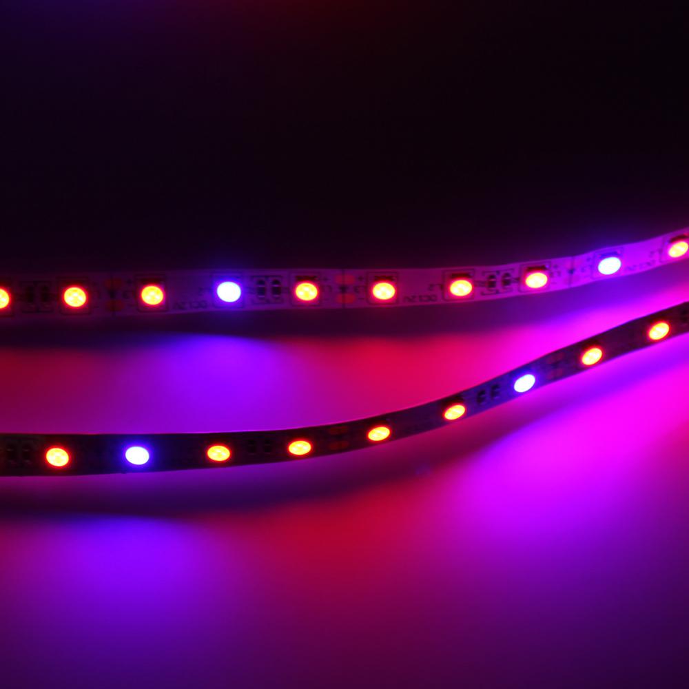 1pcs full spectrum 660nm led grow light smd 5050 300leds led strip. Black Bedroom Furniture Sets. Home Design Ideas