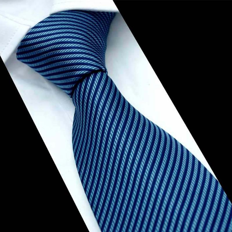 Fashion Apparel Striped Men's Ties Necktie Formal Suits Ties For Wedding Necktie Polyester Male Slim Gravatas Vestidos Cravats(China (Mainland))