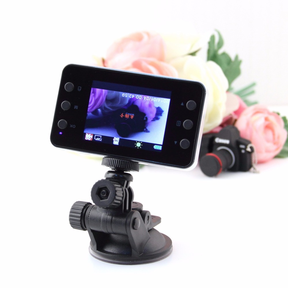 2016 New 2.4'' K6000 HD Car DVR Vehicle Camera Video Dashboard Recorder Night Vision Car Styling(China (Mainland))