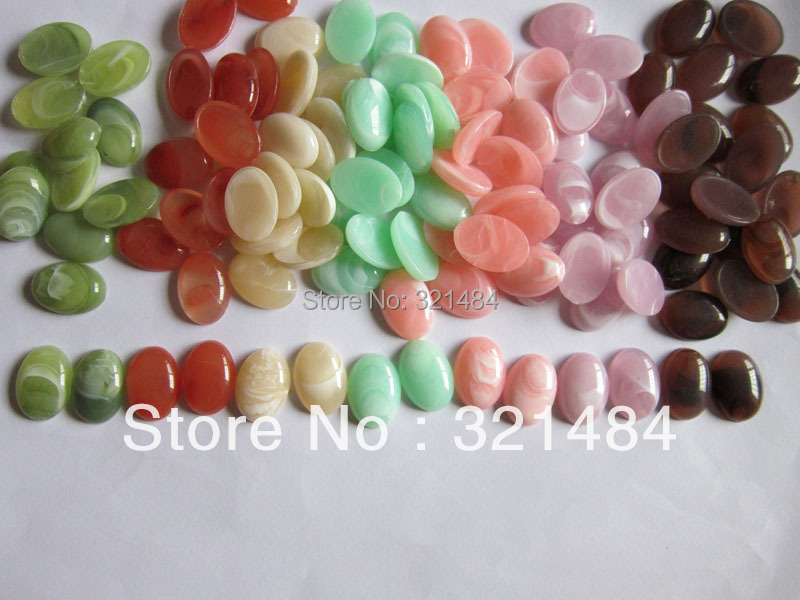 wholesale bulk acrylic 1000piece mixed 18*25mm flatback resin oval dome tile seals cameo cabochon for blanks jewelry make<br><br>Aliexpress