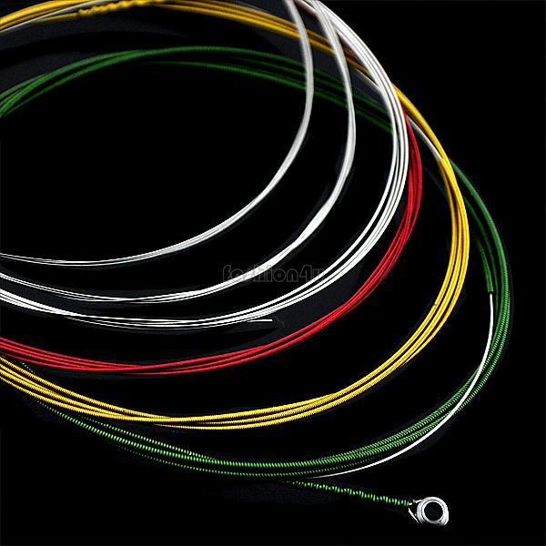 professional guitar strings colorful steel strings for electric guitar accessories 1m instrumentos musicais EH0210(China (Mainland))