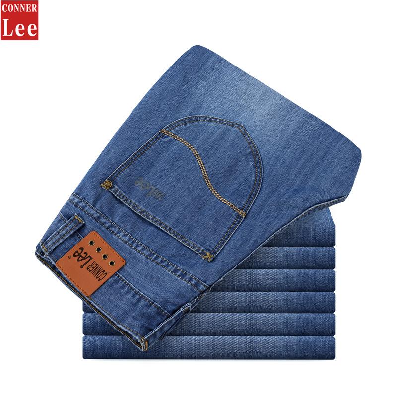 CONNER LEE Jeans men high quality skinny jeans cotton pantalones straight jean pants,vaqueros,pantalones vaqueros hombre marca(China (Mainland))