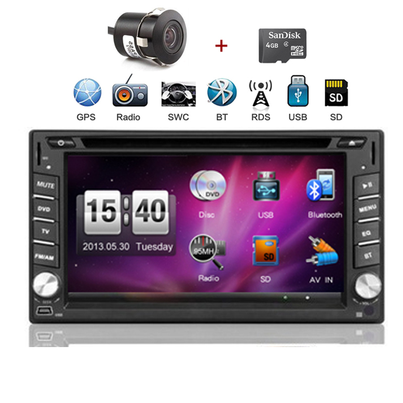 2 din 6.2'' Terracan 2001-2007 car dvd player with GPS touch screen ,steering wheel control,ipod,stereo,radio,usb,BT(China (Mainland))